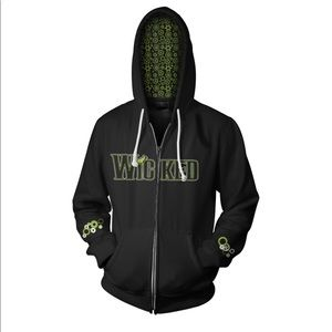 WICKED the Musical zippered hoodie, L.